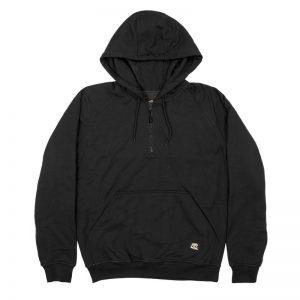 BERNE Quarter-Zip Hooded Sweatshirt - SP350