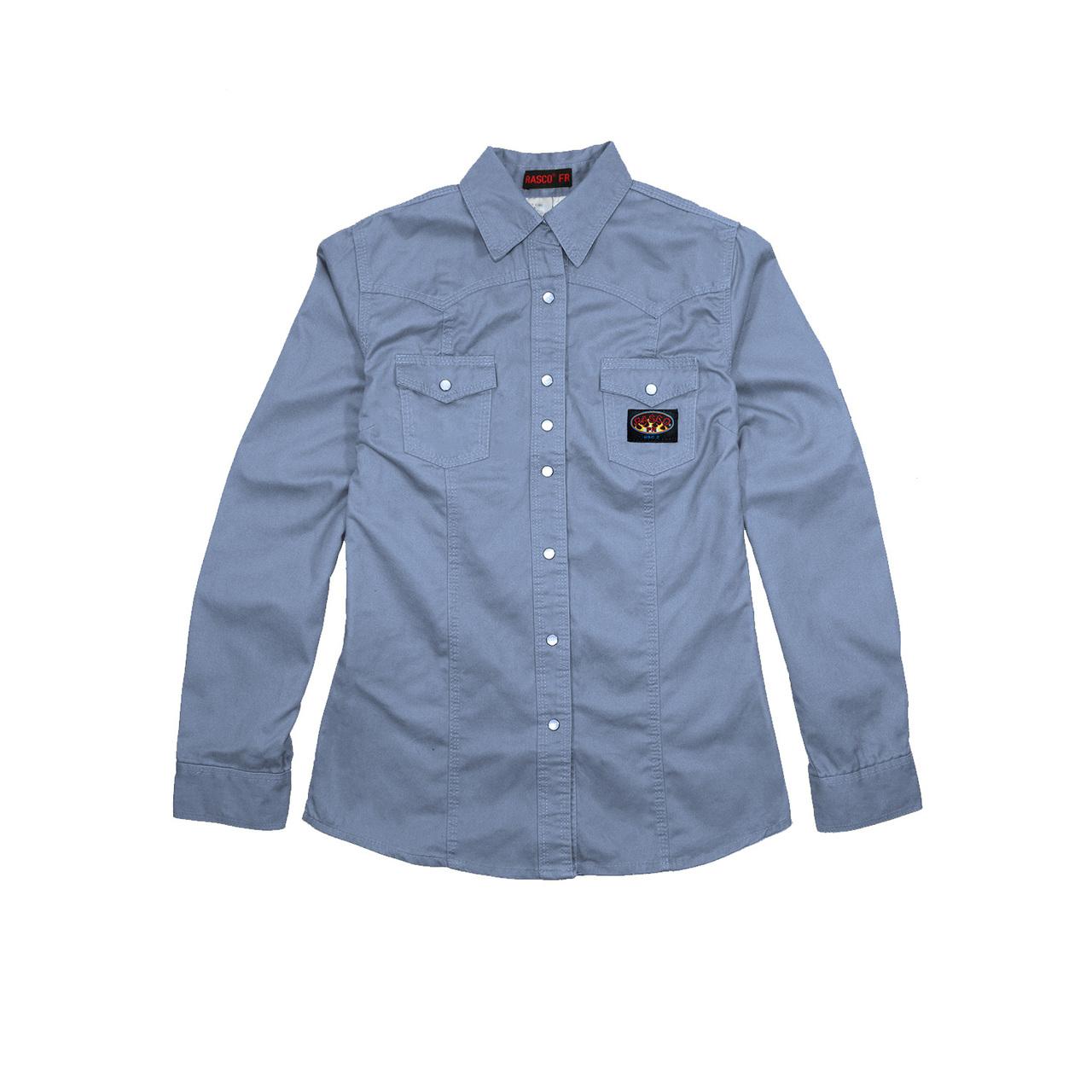8b0e8fb20c RASCO FR Women s Shirts - Snaps - Metro Industrial Supply